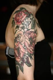 arm tattoo with flowers danielhuscroft com