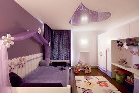 bedroom girls canopy bed ideas with accent wall also area rug and