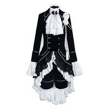 Black Butler Halloween Costumes Black Butler Cosplay Japanese Anime Ebay