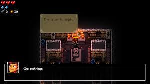 enter the gungeon how do i use an altar arqade