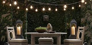 Hanging Patio String Lights Outdoor Patio String Lights Heavy Duty Hanging Patio Lights 50