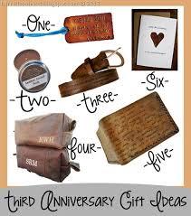 3rd wedding anniversary gift ideas best 25 third anniversary ideas on 3rd year