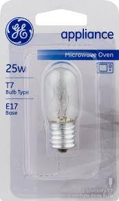 ge microwave oven appliance lightbulb 25w 1 0 ct walmart com
