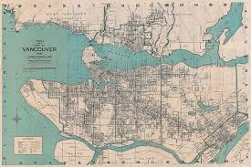 wrigley u0027s vancouver map 1930 majesty maps u0026 prints