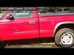 2002 dodge dakota for sale 2002 dodge dakota for sale in statesville nc 28625 at