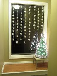 Window Ornaments With Lights Decorating Window Decorations Featuring White