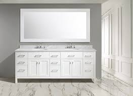 84 inch double sink bathroom vanities abuetta 84 inch white finish contemporary bathroom vanity marble top