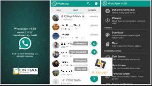 whatsapp apk last version whatsapp plus apk version v6 76 free
