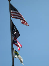Flag Of Cameron Elevation Of Wood St Cameron Oh Usa Maplogs