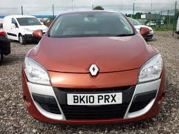 renault orange used orange renault megane for sale devon