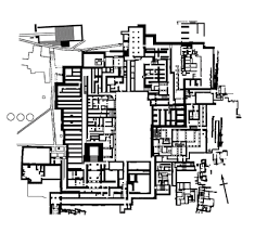 winter palace floor plan palace of knossos