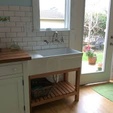 unfitted kitchen furniture the kitchen sink in my freestanding unfitted kitchen a whitehaus