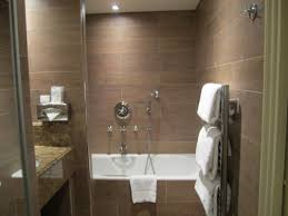 Tiny Bathroom by Tiny Bathroom With Shower Decoration Using Solid Oak Wood Tile