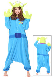 toy story halloween alien pajama costume