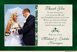 wedding thank you classic photo wedding thank you cards image wedding thank