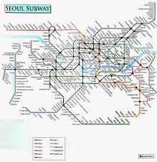 Seoul Subway Map by Curso De Topik Intermedio