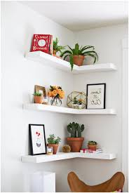 Ikea Wall Shelves by Small Corner Shelf Finest Shelves For Wall Raw Ladder Corner Shelf