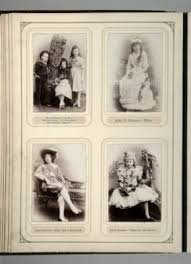 500 page photo album object of the week fancy dress photo album