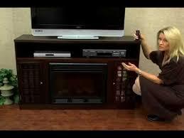 Electric Fireplace Media Console Narita Espresso Media Console With Electric Fireplace Sei Fa9301e