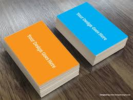 Business Card Mockup Psd Download Realistic Business Card Mockup Template Free Download U2013 Designscanyon