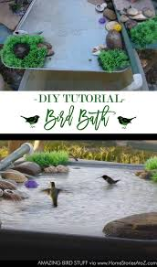 Patio Misting System Diy by Diy Bird Bath