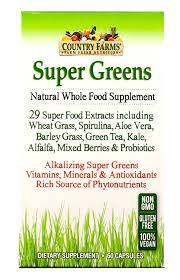 amazon com country farms super green drink berry flavor 9 88