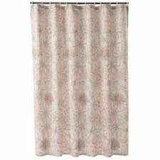 Pink Flower Shower Curtain Cynthia Rowley Spring Floral Flowers Fabric Shower Curtain