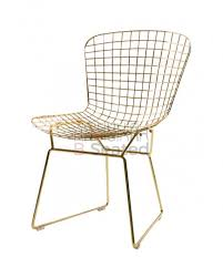 Metal Dining Chairs Ella Gold Metal Dining Chair Metal Chairs Cafe Furniture