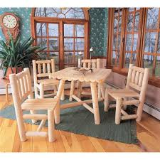 Log Dining Room Tables Cabin Kitchen U0026 Dining Furniture Log Dining Table Sets