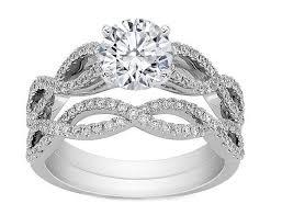 fancy wedding rings fancy engagement ring infinity bridal set engagement ring bridal