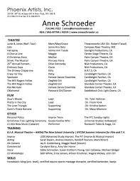 Printer Resume Resume U2014 Anne Schroeder