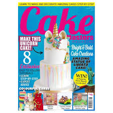 Cake Decorating Magazine Issues Cake Masters Magazine August 2017 Issue 59 Tools U0026 Equipment