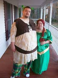 Halloween Couples Costumes Couples Halloween Costumes Shrek And Fiona Plus 8 More Today Com