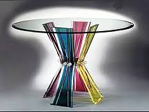 Lucite Pedestals Furniture By Ruth Fischl