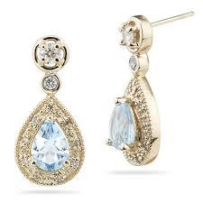 earing design superb aquamarine mix earring designs