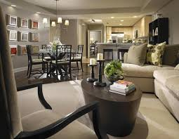 Open Kitchen And Dining Room by Open Living Room And Kitchen Expert Living Room Design Ideas