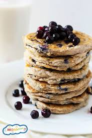 gluten free blueberry pancakes momables good food plan on it