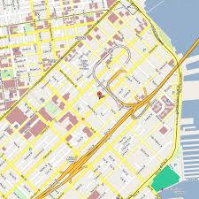 san francisco map downtown san francisco hotels map downtown maps of usa
