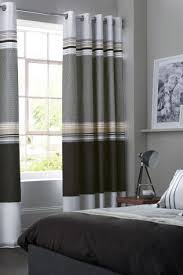 Black And Grey Bedroom Curtains Bedroom Curtains Ready Made Curtains For Bedroom Next Uk