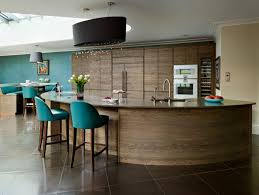 kitchen island with barstools beautiful curved kitchen island ideas to be inspired by decohoms