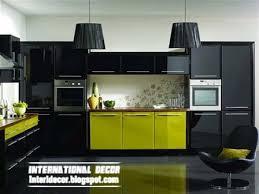 interior design 2014 modern black kitchen designs ideas