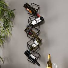iron wine racks you u0027ll love wayfair