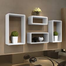 contemporary living room with wall storage cubes ikea and