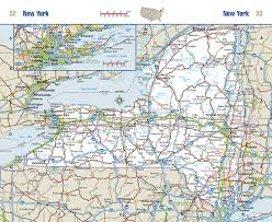 New York Pocket Map by American Highway Pocket Atlas