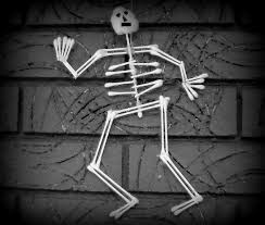 Youtube Halloween Crafts - how to make a skeleton cotton swab halloween craft youtube