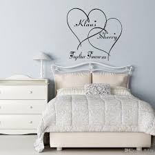 bedroom wall art love wall decals customer made couples name romantic personalised