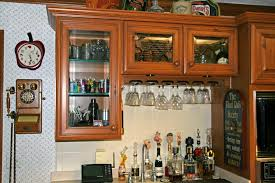 kitchen modern glass kitchen cabinet shelves small items for