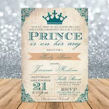 prince baby shower invitations vintage royal prince baby shower invitation pink printables