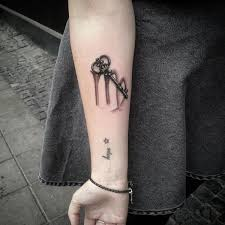 100 small skeleton key tattoo best 25 lock key tattoos