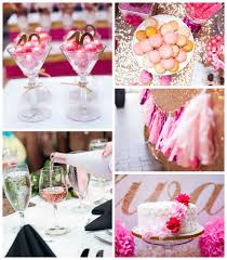 Gold And Pink Party Decorations Kara U0027s Party Ideas Glamorous Pink Gold 40th Birthday Party